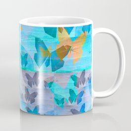 Simple Butterfly Geometric Print Coffee Mug