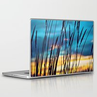 western Laptop & iPad Skins featuring Western Sky by Melanie Ann