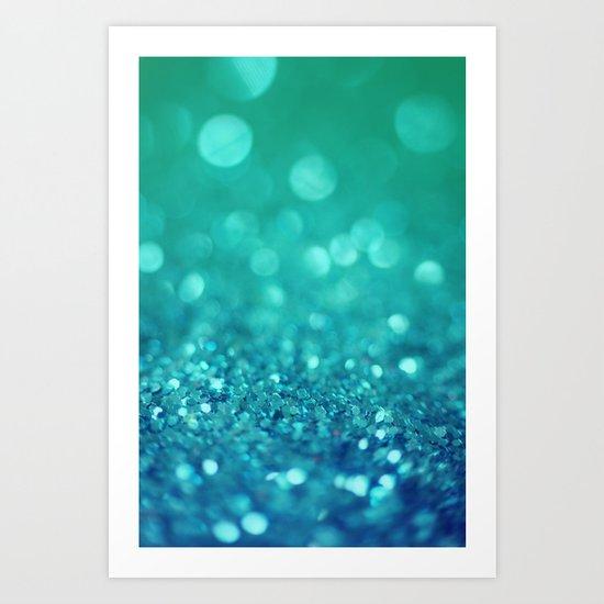 Bubble Party Art Print