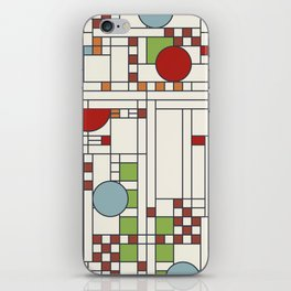 Frank lloyd wright pattern S02 iPhone Skin