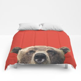 Bear - Red Comforters