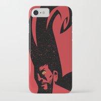 diablo iPhone & iPod Cases featuring Diablo by Blackbean Studio