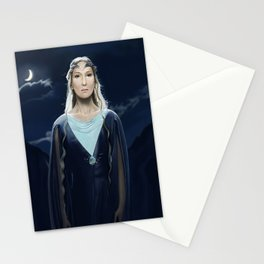 The Lady of the Galadrim by A.Harrison Stationery Cards