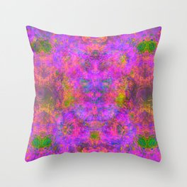 Sedated Abstraction I Throw Pillow