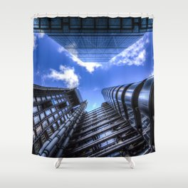 Lloyd's of London and the Cheesegrater Shower Curtain