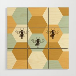 Beehive Wood Wall Art