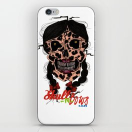 Skull-N-Bows iPhone Skin
