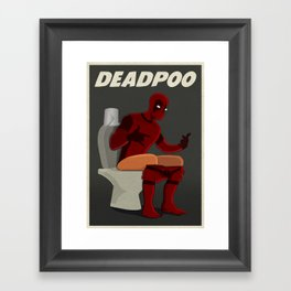 DEADPOO Framed Art Print