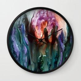 Deep Jelly Wall Clock