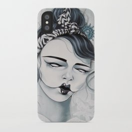 Miss Tigre iPhone Case