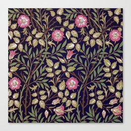 William Morris Sweet Briar Floral Art Nouveau Canvas Print