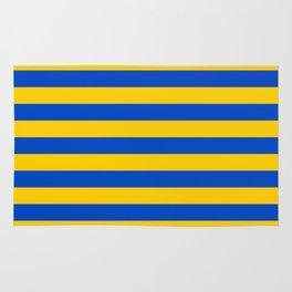 Asturias Sweden Ukraine European Union flag stripes Rug