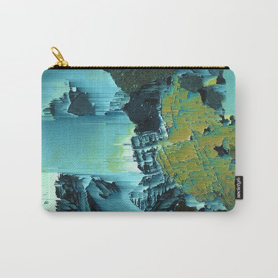 CRYSTAL DRIFT Carry-All Pouch