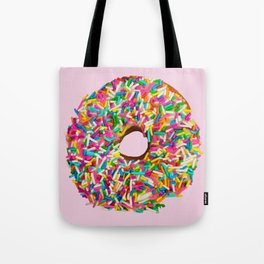 Go Nuts for Donuts Tote Bag