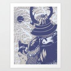 Ukita Hinawa Art Print