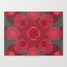 Circle Star 4x8 Canvas Print