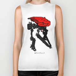 Zerog Biped - Fire Red Biker Tank