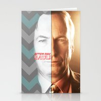 better call saul Stationery Cards featuring BETTER CALL SAUL by Ylenia Pizzetti
