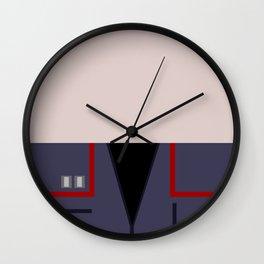 Malcolm Reed - Minimalist Star Trek: Enterprise ENT - Trektangle - Trektangles - NX-01 Wall Clock