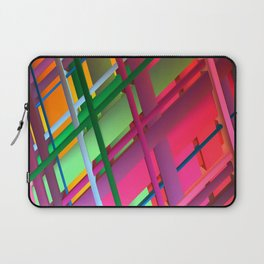 Striping Confusion Laptop Sleeve