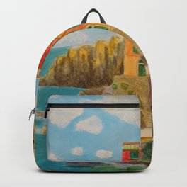 chinque terre Backpack