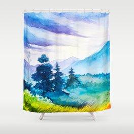 Autumn scenery #10 Shower Curtain