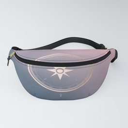 The Edge of Tomorrow - Rosegold Compass Fanny Pack