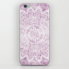 BOHEMIAN FLOWER MANDALA IN PINK iPhone & iPod Skin