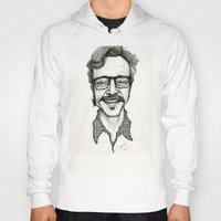 marc johns Hoodies featuring Marc Maron by Simone Bellenoit : Art & Illustration