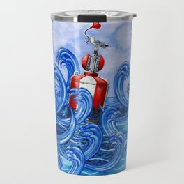 Hold on to the Buoy of Love Travel Mug