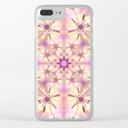 Softness Mandala Clear iPhone Case