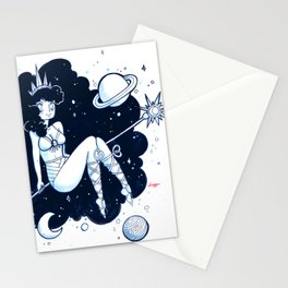 Space Goddess Stationery Cards