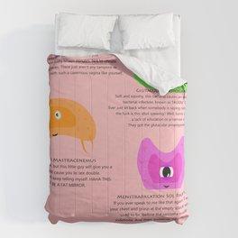 Life & Monsters Alike Comforters