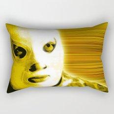 La Lucha - Yellow Edition Rectangular Pillow