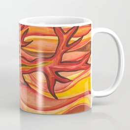 The Tree on Fire Coffee Mug