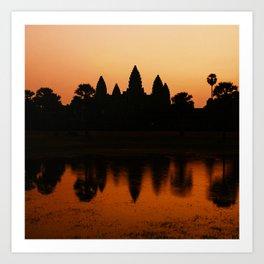 Angkor Wat Art Print