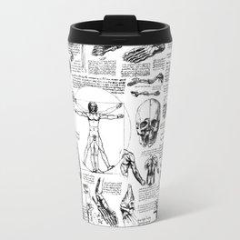 Da Vinci's Anatomy Sketchbook Travel Mug