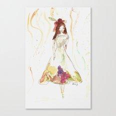 Fashion Illustration 2  Canvas Print