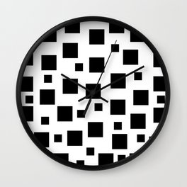 Above The Square Wall Clock