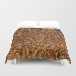 Scorched Rice Duvet Cover