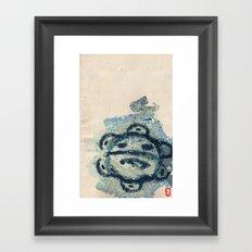 Taíno sun  Framed Art Print