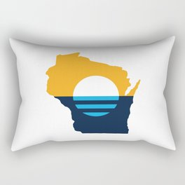 Wisconsin - People's Flag of Milwaukee Rectangular Pillow