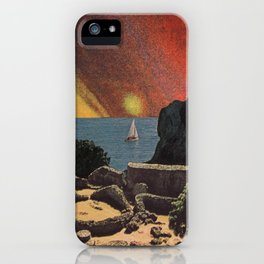 Green Flash Sunset iPhone Case