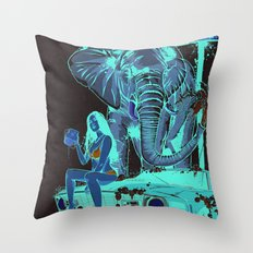 Car Wash Throw Pillow