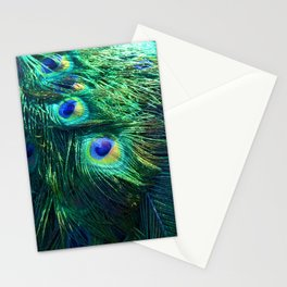 Peacock Feathers #1 #decor #art #society6 Stationery Cards