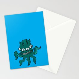 Mutant Squid - by Rui Guerreiro Stationery Cards