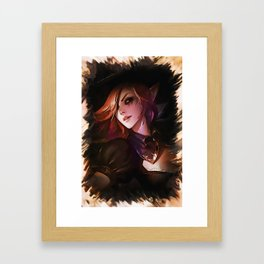League of Legends BEWITCHING MORGANA Framed Art Print