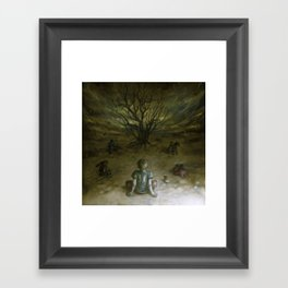 The Great Magician Framed Art Print