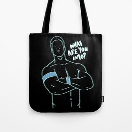 What Are You Into? II Alt Tote Bag