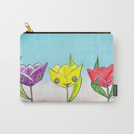 """""""Oro?"""" Tulips Carry-All Pouch"""